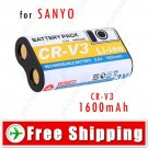 1600mAh Rechargeable CR-V3 Battery for Sanyo DC Digital Camera