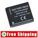 Battery DMW-BCJ13E DMW-BCJ13 DMW-BCJ13PP for Panasonic Lumix LX5 LX5K