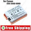 Li-ion Battery LP-E8 for Canon EOS 550D 600D Digital Camera