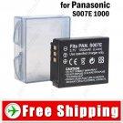 Battery S007E for Panasonic Lumix DMC-TZ1 Series Digital Camera