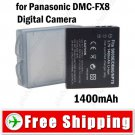 Li-ion Battery for Panasonic DMC-FX8 Digital Camera
