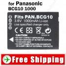 Battery BCG10 for Panasonic DMC TZ7 TZ6 TZ8 Digital Camera