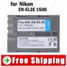 Battery EN-EL3E for Nikon D200 D100 D70 D70s D50 D300 D90