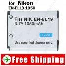 Li-ion Battery EN-EL19 for Nikon COOLPIX S2500 S4100 S3100