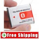 Battery NP-BG1 NP-FG1 for Sony Camera DSC-H10 DSC-H3 DSC-H50 DSC-H7
