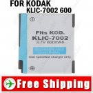 Battery KLIC-7002 for KODAK EasyShare V530 V603 Zoom Digital Camera
