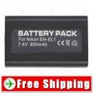 EN-EL1 NP-800 Camera Battery for Nikon Coolpix 4300 770 775 880