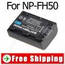 Camera Camcorder NP-FH50 Battery Pack for Sony DCR- DVD HC SR HC
