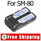 SB-LSM80 Camcorder Battery for Samsung VP-D351 D351i D352 D352i D353i
