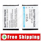 NP-20 NP-20DBA Camera Battery for Casio Exilim EX-M1 M2 S1 S2 S3