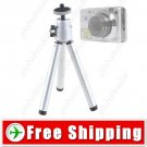 7inch Mini Adjustable Metal Tripod for Camera Sony Nikon Canon
