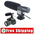 DV Stereo Microphone for Canon 60D 5D Mark II 7D D300S Camera