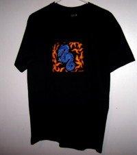 Sugar Glider T Shirt Zippered Bonding Pouch (Dragon)