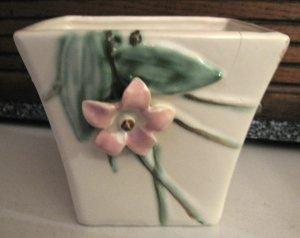 McCoy Blossoms Flower Pot Planter Vintage Pottery