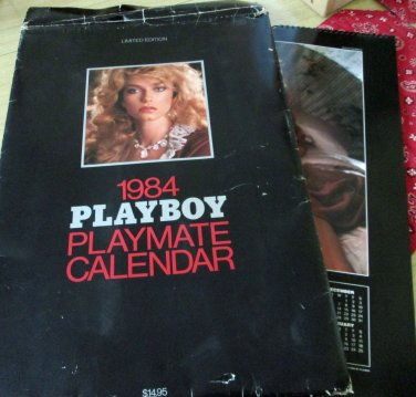 Large Limited Edition 1984 Playboy Playmate Calendar (includes Shannon Tweed)