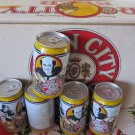 Collectible Iron City Beer Pittsburgh Steelers Beer CASE 12 oz Cans TERRY BRADSHAW