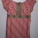 Girls Limited Too Size XXL Pink Striped Shirt