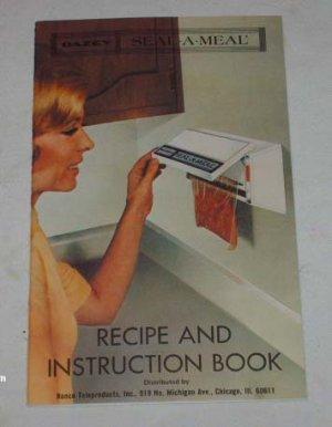 Vintage Dazey Seal-A-Meal Recipes/Instructions � 1968