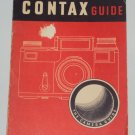 Vintage Contax Softcover Guide for Contax Cameras