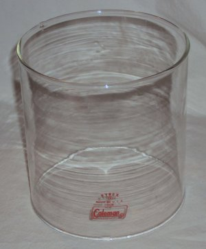 Vintage Pyrex Glass Globe for Coleman Lantern