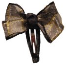 Small black and gold dragonfly