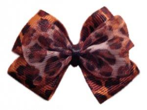 Sexy Leopard Hair-bow