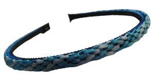 Blue Ribbon Woven Headband