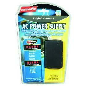 DigiPower ACD-CN1 AC Adapter for Canon PowerShot