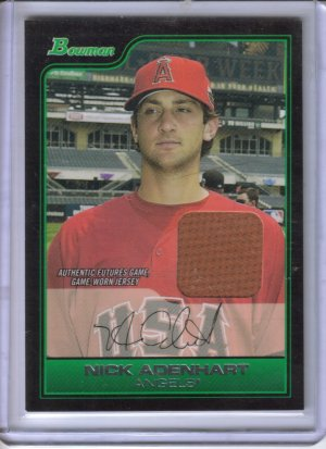 2006 Bowman Draft Future's Game Prospects Relics Nick Adenhart Jsy B #1