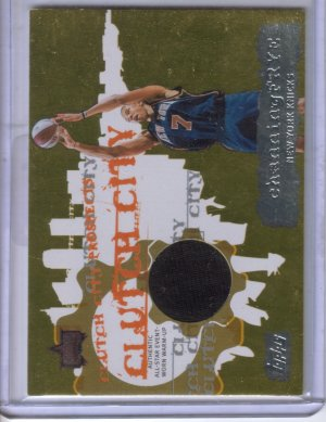 2006-07 Topps Clutch City Prospects Relics Channing Frye B #CF