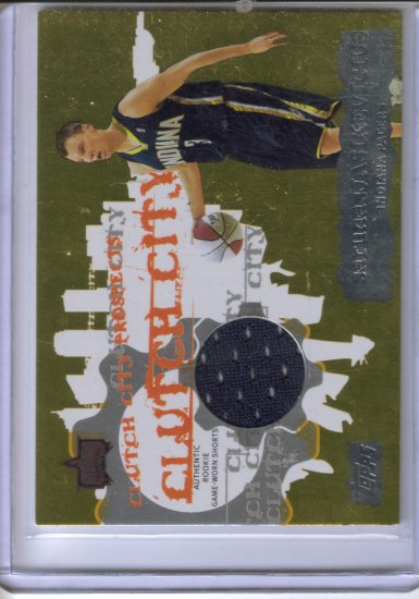 2006-07 Topps Clutch City Prospects Relics Sarunas Jasikevicius A #SJ