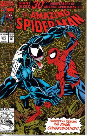 The Amazing Spider-Man Holo Issue 375