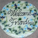 Honey Bees Welcome Friends Garden Stepping Stone
