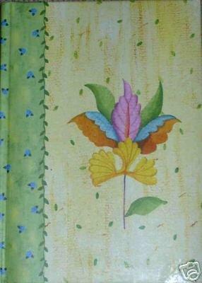 Yellow Padded Flower Garden Journal Lined for Writing