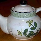 Herb Garden Tea Pot
