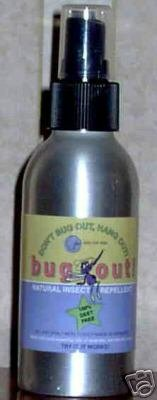 Bug Out Natural Insect Repellent Spray Deet Free
