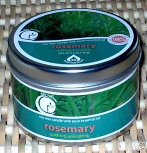 Rosemary Aromatherapy Soy Candle
