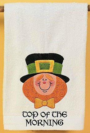 Leprechaun Hand Towel
