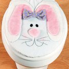 Easter Bunny Toilet Lid Cover