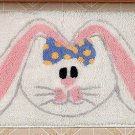 Easter Bunny Bath Mat
