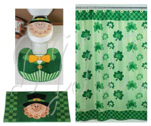 Leprechaun St. Patrick's Day Bath Set