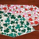 Reversible Shamrock & Heart Table Runner