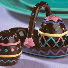 Chocolate Easter Egg Salt & Pepper Shakers