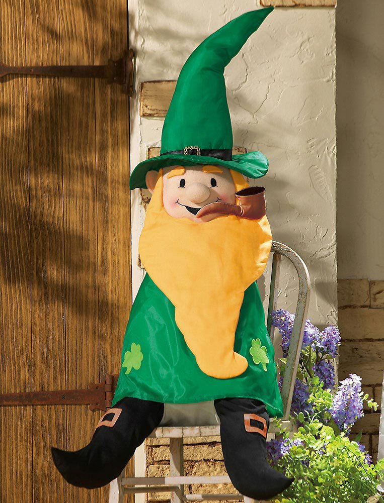 Stuffable St. Patrick's Day Leprechaun Welcome Greeter