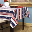 "Americana Tablecloth 60"" x 104"""