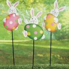 Easter Bunny Yard Stakes