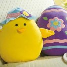 Easter Chick & Egg Character Pillows