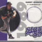 Randy Johnson '02 UD Authentics Stars of '89 Jerseys