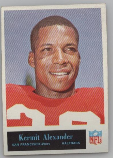 Kermit Alexander - 1965 Philadelphia Card Co.