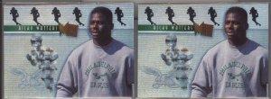 Ricky Watters 95 Fleer Metal Platinum Portraits (2)